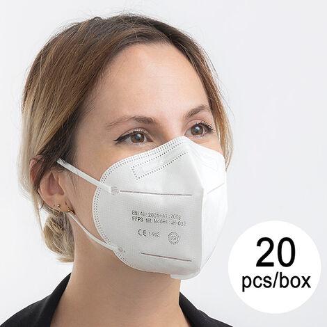Mascarilla De Protección Respiratoria Ffp3 Nr Jh-032 5 Capas (pack De 20)