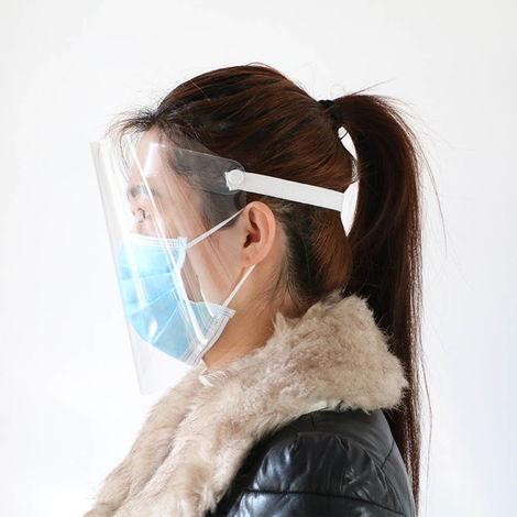 Mascarilla protectora anti-vaho, anti-polvo a prueba de gotas, transparente