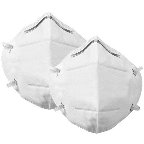 Mascarilla protectora N95 Kn95 Mascarillas faciales Filt bucal Antipolvo Protector de 3 capas Hasaki