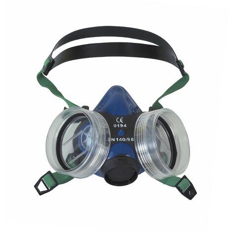 Mascarilla respiratoria sin filtro con valvula