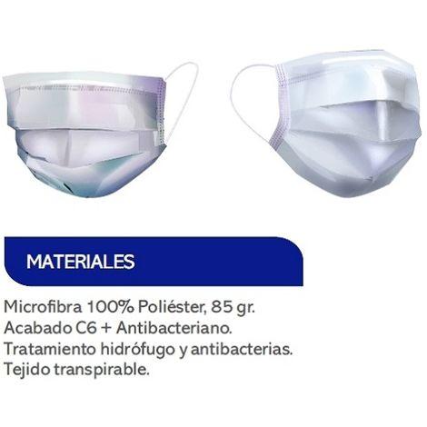 Mascarilla reutilizable 25 lavados DS9209 Industrial Starter