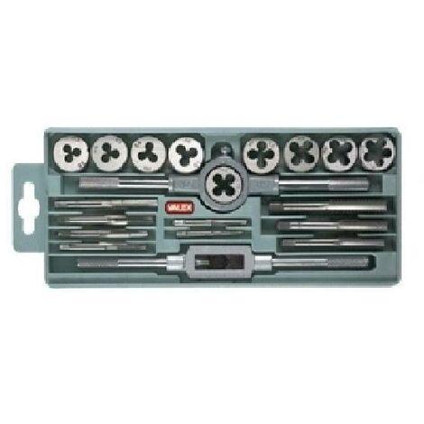 Maschi e filiere in cassetta 20 pz 1452085