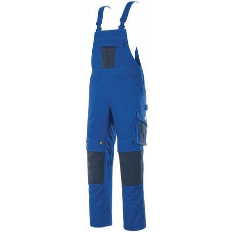 mASCOT Pantalón con peto Augsburg talla C58 azul maíz / azul negro 65% poliéster / 35% algodón Mascota
