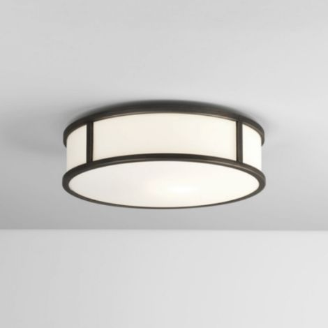 Badezimmer Deckenleuchte Osaka LED Lampe D31,2 cm IP44 Chrom