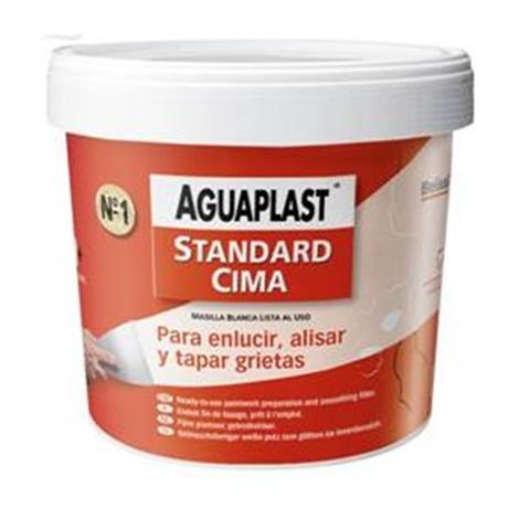 Masilla Aguaplast standard cima pasta 500 Gr