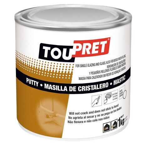 MASILLA DE CRISTALERO BLANCA 1 KG