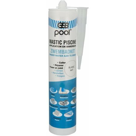 Masilla de piscina, cartucho 290ml
