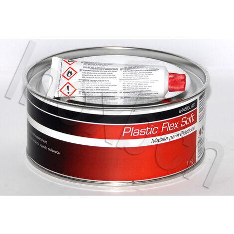 Masilla de Poliester para Reparacion de Plasticos 1 kgs