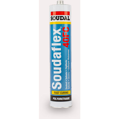 Masilla de poliuretano Soudaflex 40FC 310 Ml. Blanca