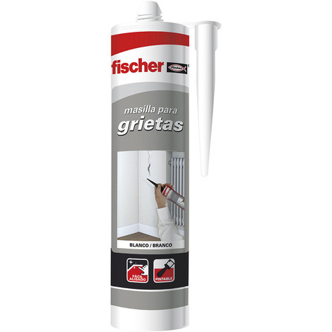 Masilla Grietas Blanca Fischer 300Ml - NEOFERR