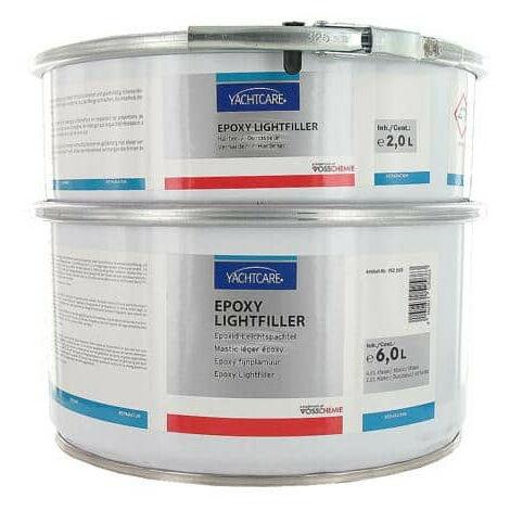 Masilla ligera epoxi Lightfiller con endurecedor Yachtcare 6 kg