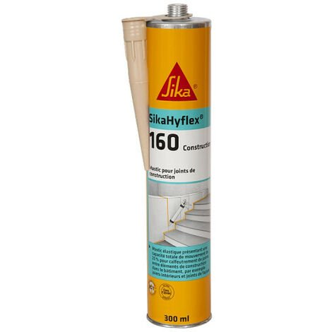 Masilla para fachadas de hormigón y mampostería SIKA SikaHyflex 160 Construcción - Beige - 300ml