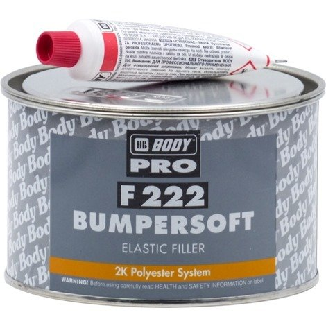 Masilla Plásticos BumperSoft HB Body 1 Kg
