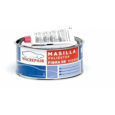 Masilla Poliéster reforzada con fibra de vidrio MacRepair 0,9 Kg Miarco 7994