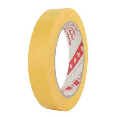 Masking Tape 3M 244 19mm x 50m x 5 yellow