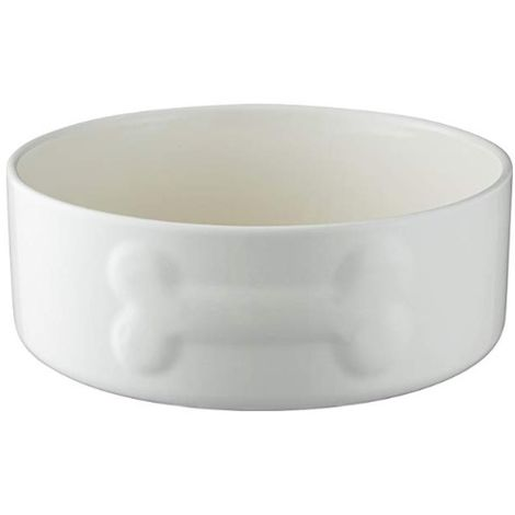 Mason Cash Dog Bowl - Quality Ceramic - Various Sizes - Cream or Grey