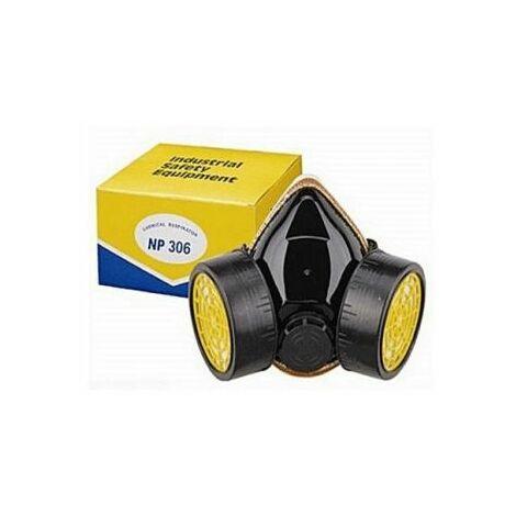 Masque à gaz 2 filtres Anti-poussière et pollution Confort Anti-pollution