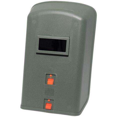 Masque à souder à main PRO 501-Protection passive du soudeur à poignée-Verre 50 x 105-teinte DIN 11 fourni-soudure occasionnelle