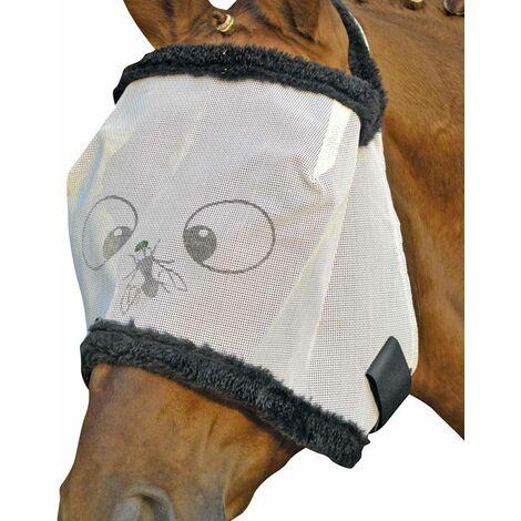 Masque anti-mosque pour chevaux modèle indéchirable Funny HKM Classic