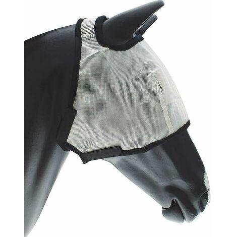 Masque anti-moustique en PVC avec fermeture tearjaw AmaHorse