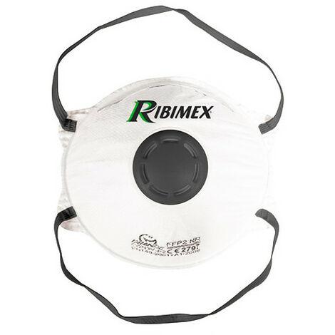 Masque anti-poussière FFP2 avec valve, lot de 3 pcs - taille: - couleur: