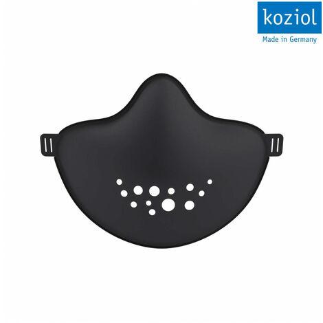 Masque barrière durable - Lavable et réutilisable - Noir