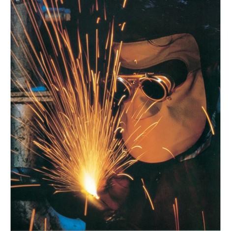 Masque cuir soudage longue avec capuche et protection de l'oreille pour Gl 50mm