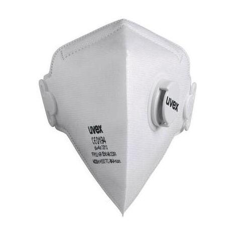 MASQUE DE PROTECTION CONTRE LES POUSSIÈRES FINES SILV-AIR 3310 UVEX 8733310 FFP3 15 PC(S)