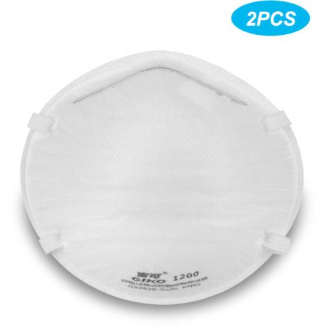 Masque De Protection Jetable Kn95, Respirant Doux, 2Pcs