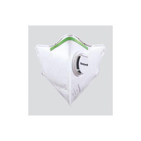 Masque de protection respiratoire pliable FFP2V en sachet réutilisable