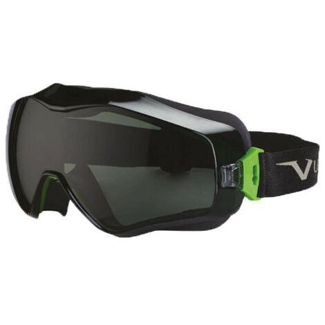 Masque de protection UNIVET - noir et vert