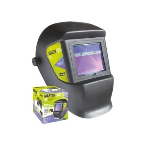 Masque de soudure automatique à cristaux liquides LCD à alimentation solaire MASTER LCD 11 TOPARC GYS 043442