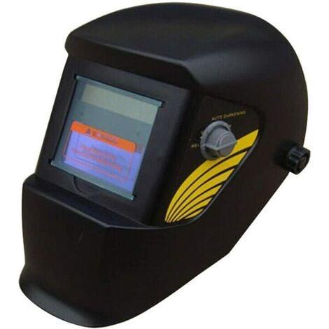 Masque de Soudure Automatique Masque avec Assombrissement Automatique Avec Lentille Large Gamme de Stores Ajustable