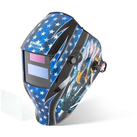 Masque De Soudure Automatique Solaire Casque Soudage DIN 9-13 Tous Procédés HERO