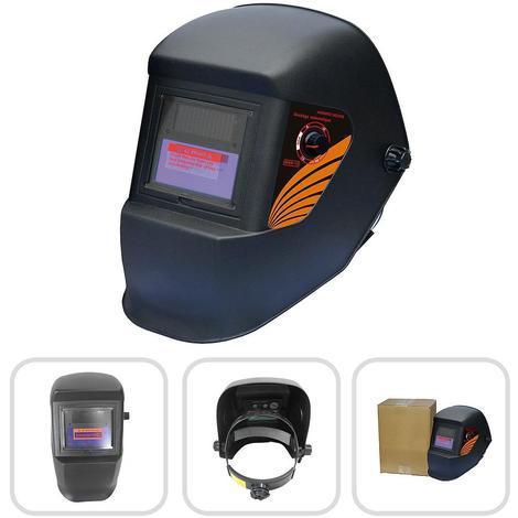 Masque de Soudure Réglable, Masque avec Assombrissement Automatique, Noir, Matériau: LCD, PCB