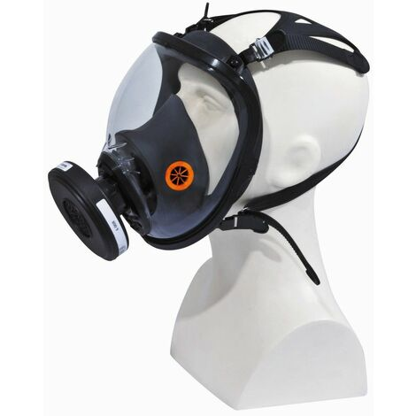 MASQUE DELTA PLUS COMPLET RESPIRATOIRE EN SILICONE STRAP GALAXY - M9300NO - -