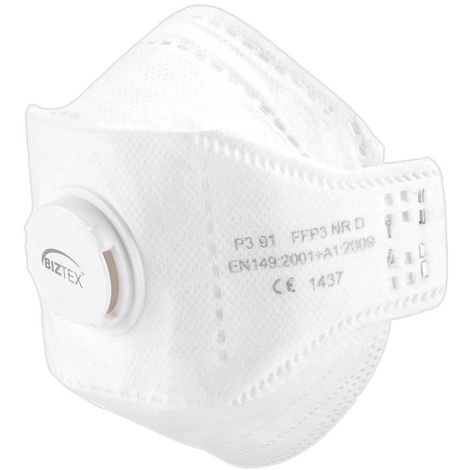 Masque EAGLE pliable FFP3 Dolomite avec valve - Portwest - P391