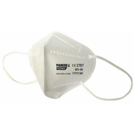 MASQUE FFP2 MC0001BL (UNITÉ BOX-40) (UNITÉ PACK-2)