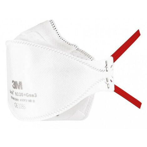 Masque ffp3 masque demi-masque filtrant aura 9330+