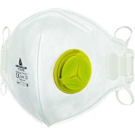 Masque jetable FFP2 avec valve - Boite de 10
