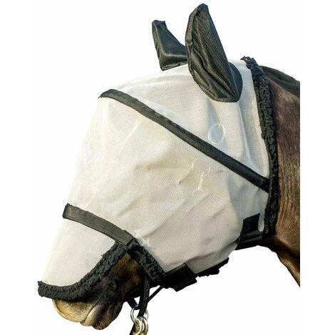 Masque lacrymogène anti-mosque pour chevaux HKM Classic