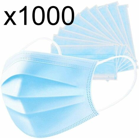 Masque MASQUE CHIRURGICAL bleu en polypropylène