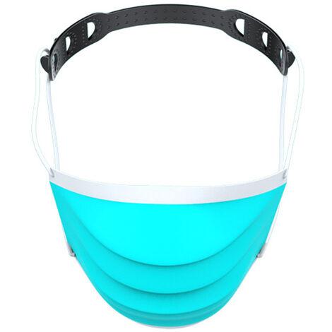 Masque noir boucle de reglage du masque ceinture anti-maux d'oreille ajustement facile emballage independant 1 paquet