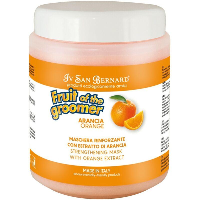 Masque pour les chiens   Fruit of the toiletteur Pek masque Sublime   1 litre masque orange