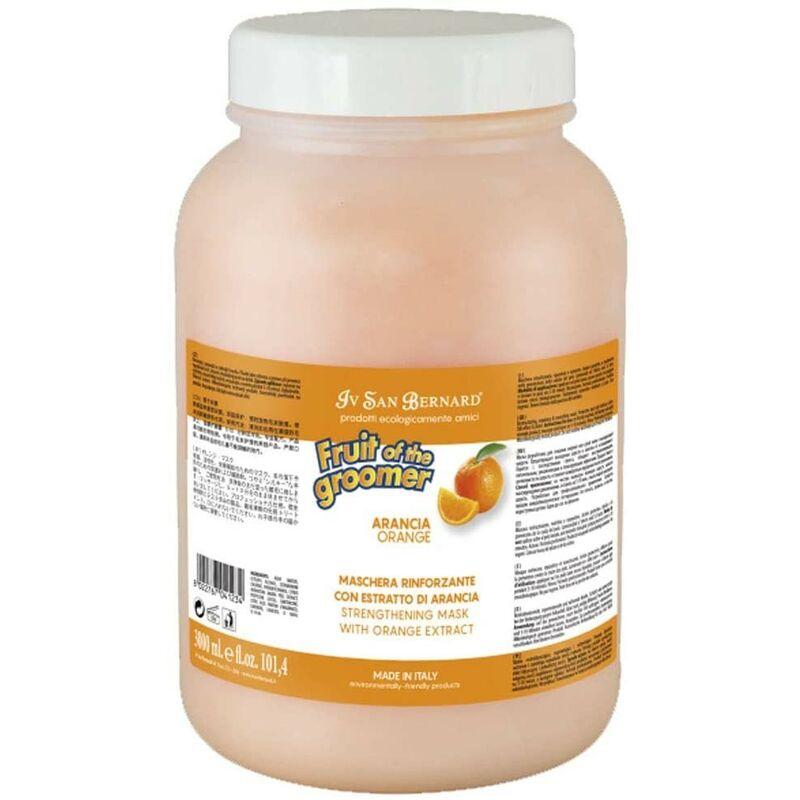 Global Network - Masque pour les chiens   Fruit of the toiletteur Pek masque Sublime   Masque Orange 3 litres