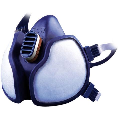 Masque respiratoire antigaz et antipoussière A1P2 3M