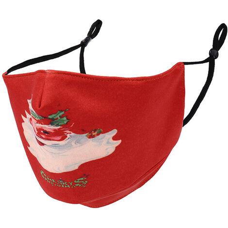 Masques Anti-Poussiere Unisexe Timbre De Noel, Le Style 3