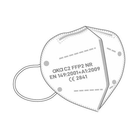 Masques de protection FFP2, 10 pièces