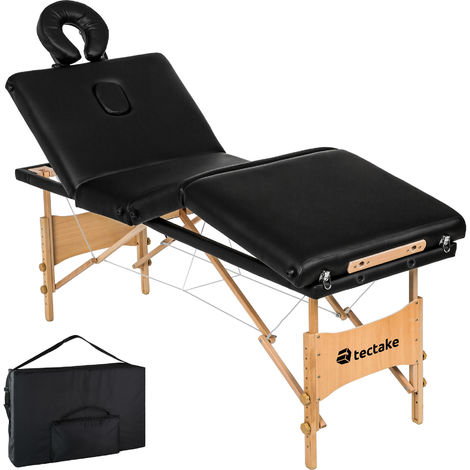 Massage table 4-zone + bag Kim - massage bed, portable massage table, portable beauty bed