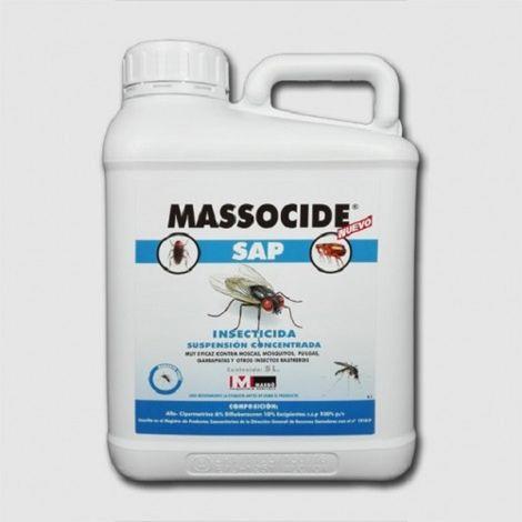 Massó Massocide SAP Insecticida Polivalente Suspensión Concentrada, 5000 cc